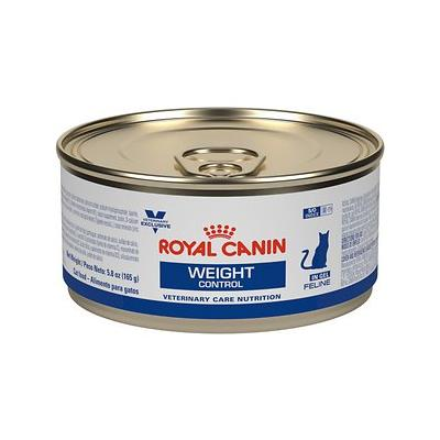 Royal Canin Veterinary Diet Weight Control Formula Canned Cat Food, 5.8-oz, case of 24