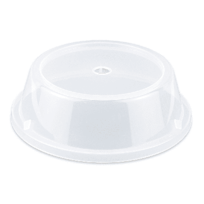 GET CO-93-CL Cover For 9.7 To 10.4 Round Plates, Clear Polypropylene on Sale