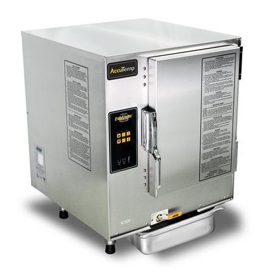 Accutemp E64403D120 (6) Pan Convection Steamer - Countertop, Holding Capability, 440v/3ph on Sale