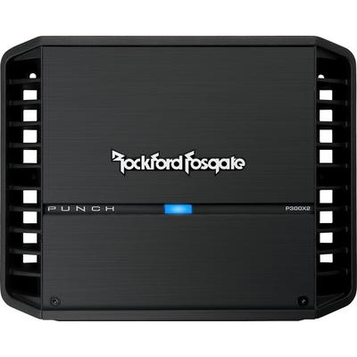 Rockford Fosgate Punch P300X2 100W x 2 Car Amplifier