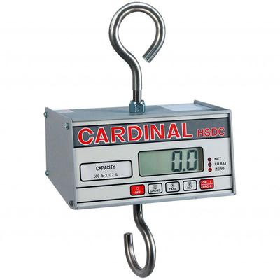 """Detecto HSDC-100KG Hanging Scale w/ 1"""" Digital Readout, Battery Powered, 99 9/105 x 1/20 kg Capacity"""