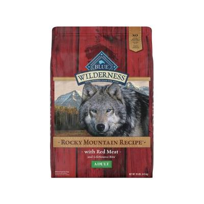 Blue Buffalo Wilderness Rocky Mountain Recipe with Red Meat Adult Grain-Free Dry Dog Food, 10-lb bag
