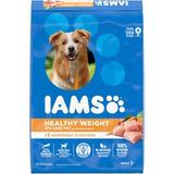 Iams ProActive Health Adult Healthy Weight Dry Dog Food, 15-lb bag