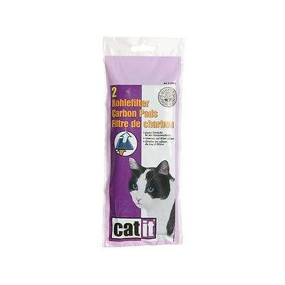 Catit Hooded Cat Pan Replacement Carbon Pads, 2 count