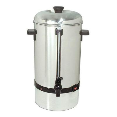 Adcraft CP-100 Coffee Percolator w/ 100 Cup Capacity & Auto Temp Control, Stainless on Sale