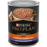Purina Pro Plan Select Grain-Free Classic Turkey & Sweet Potato Canned Dog Food, 13-oz, 12ct
