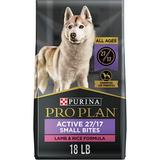 Purina Pro Plan Focus All Life Stages Small Bites Lamb & Rice Formula Dry Dog Food, 18-lb bag