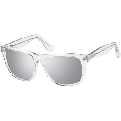 Zenni Women's Sunglasses Clear Plastic Frame