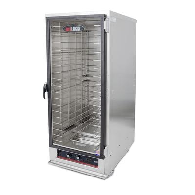 Carter-Hoffmann HL4-18 Full Height Insulated Mobile Heated Cabinet w/ (18) Pan Capacity, 120v