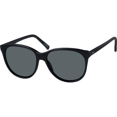 Zenni Womens Sunglasses Black Fr...