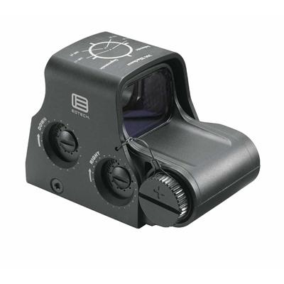 Eotech 300 Blackout/Whisper Holographic Weapon Sight - Xps2-300 Weapon Sight, 65 Moa Ring W/ (2) 1 M
