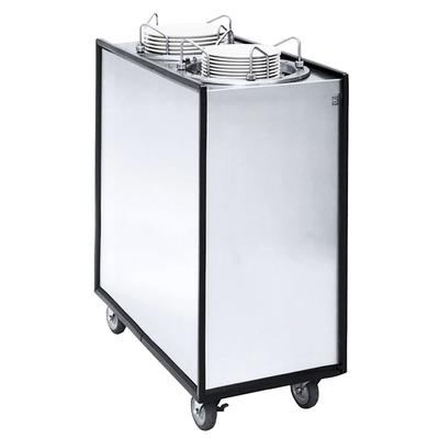 APW HML2-9A/12A Deluxe Heated Dish Dispenser w/ 2 Tubes, 11 7/8 & 9 1/8 Dish, 208/240v/1ph on Sale