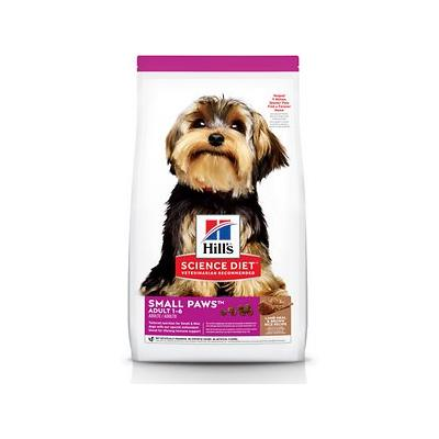 Hill's Science Diet Adult Small & Toy Breed Lamb Meal & Rice Recipe Dry Dog Food, 4.5-lb bag