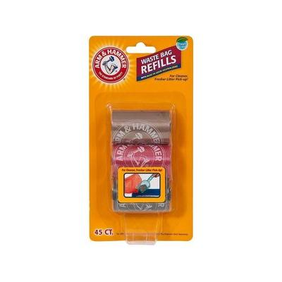 Arm & Hammer Litter Scoop Waste Bag Refills, 45 count