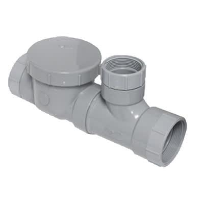Canplas 3922115AT Threaded Format Flow Control w/ Fittings, Cleanout & Air Intake, 15 GPM on Sale