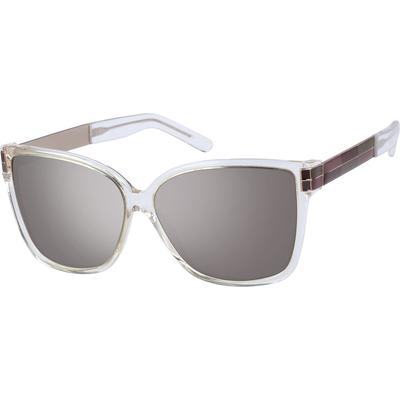 Zenni Women's Sunglasses Clear F...