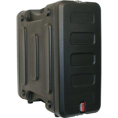 "Gator Pro-Series Molded Mil-Grade PE Rack Case; 6U, 19"" Deep"