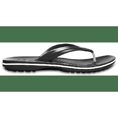 Crocs Black Crocband™ Flip Shoes