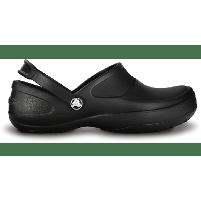 Crocs Black / Black Women'S Mercy Work Clog Shoes