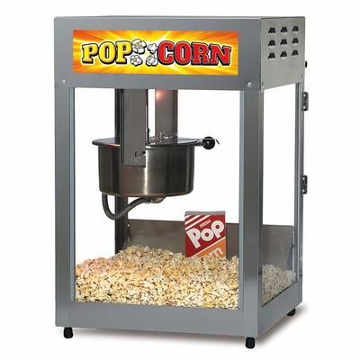 Gold Medal 2552 Pop Maxx Popcorn Popper - 14 oz EZ Kleen Kettle & Stainless Dome, 120v on Sale