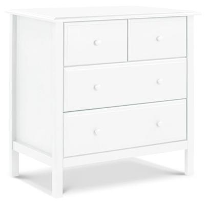 DaVinci Autumn 4-Drawer Changer Dresser - White