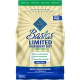 Blue Buffalo Basics Limited Ingredient Grain-Free Formula Duck & Potato Adult Dry Dog Food, 4-lb
