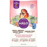Halo Spot's Stew Healthy Weight Grain-Free Whitefish & Salmon Toy & Small Breed Dry Dog Food, 10-lb