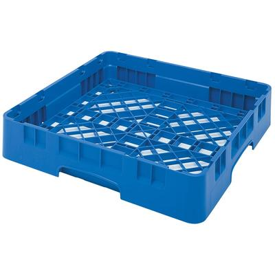 Cambro BR258168 Camrack Base Rack - Full Size, 1 Compartment, 4H, Blue on Sale