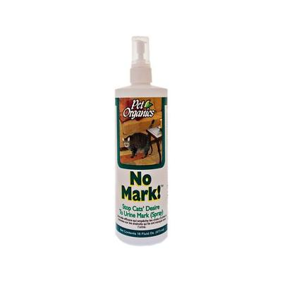 NaturVet Pet Organics No Mark! Stops Cats\' Desire to Urine Mark, 16-oz bottle; If your kitty marks her territory somewhere other than her litter box, it may be time to try NaturVet No Mark spray. It\'s the uncomplicated way to deter your cat from...