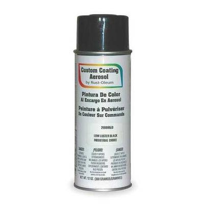 Spray Paint, Post Office Blue, Net Weight 12 oz., Paint and Primer Surface Material Masonry, Metal, Wood, Solvent Base Type, Resin Type Enamel, Application Temperature 50 to 100 Degrees F, Interior/Exterior, OSHA Standards, Dry Time Tack Free 12 min.,...