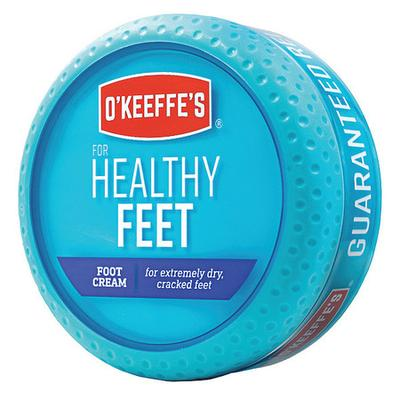 O'Keeffe's® for Healthy Feet is a concentrated foot cream that heals, relieves and repairs extremely dry, cracked feet. It is safe and effective for skin that is impacted by diabetes. When used daily, O'Keeffe's® for Healthy Feet is clinically proven...