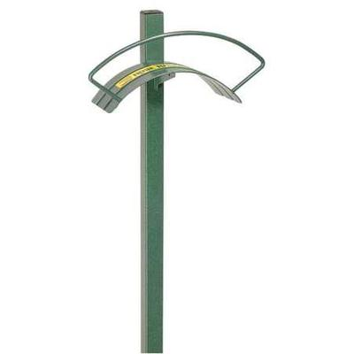 YARD BUTLER HC-2 Hose Hanger,Steel,Green,5.5 In D,11 In W