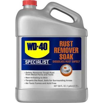 Penetrant, Lubricant NSF Rating Not Rated, Penetrant Base Water, Min. Operating Temp. 60 Degrees F, Max. Operating Temp. 150 Degrees F, Nonflammable, Lubricant Container Jug, Container Size 1 gal., Rust Remover Soak, Lubricant Color Clear, Net Weight 1...