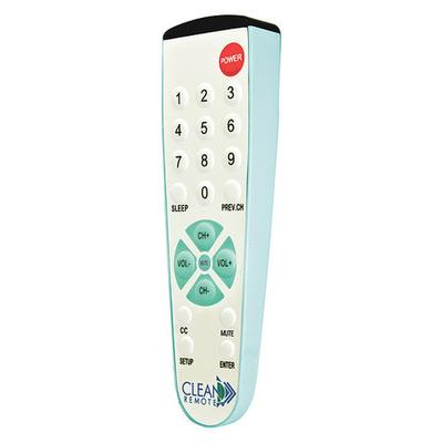 CLEAN REMOTE CR2BB Large Button Universal Remote Control for Healthcare