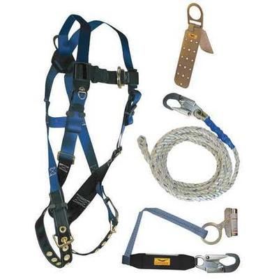 CONDOR 19F394 Roofer's Harness Kit, Size: Universal