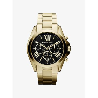 Michael Kors Oversized Bradshaw Gold-Tone Watch Gold One Size