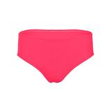 Full Coverage Mid Rise Hipster Bikini Bottom Full Bottoms - Pink