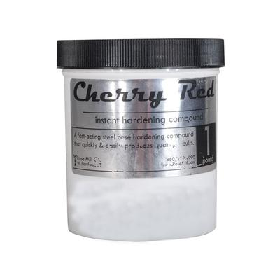 Cherry Red Surface Hardening Compound is an easy way to harden soft, low carbon metals. Cherry Red in combination with high heat creates a tough, durable, hardened finish on the surface of metals. Produces a wear surface (surface hardening) on low...