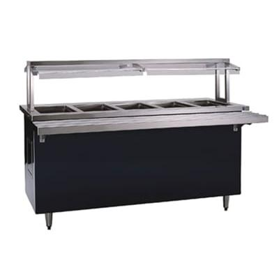 Delfield KH-5-NU 74-in Hot Food Serving Counter w/ 5-Pan Capacity, 120/208-230v/1ph