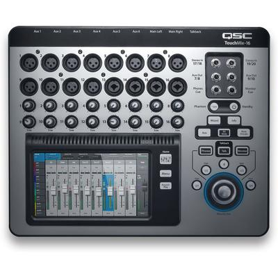 QSC Digital Mixer 16 Channel Touch-screen Digital Mixer