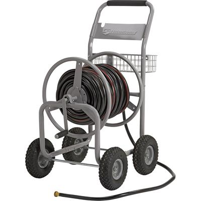 Strongway Garden Hose Reel Cart - Holds 5/8 Inch x 400ft. Hose on Sale