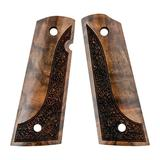Artisan Stock And Gunworks Inc 1911 Exotic Wood Grips - 1911 Exotic Wood Grip Made From Turkish Waln
