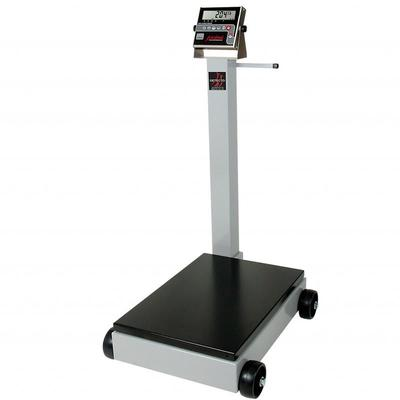 Detecto 5852F-210 500 lb Digital Portable Scale w/ 210 Weight Display Indicator on Sale