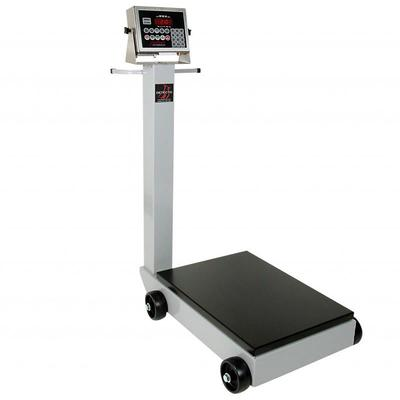 Detecto 5852F-190 500 lb Digital Portable Scale w/ 190 Weight Display Indicator on Sale