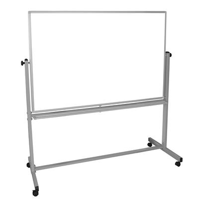 Luxor MB6040WW Reversible Magnetic Whiteboard w/ Aluminum Frame, 60 x 40 on Sale