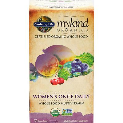 Garden Of Life MyKind Organics Women's Once Daily -30 Tablets