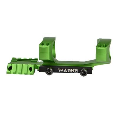 Warne Mfg. Company Ar-15/M16 R.A.M.P. Tactical Mount - Tactical R.A.M.P Mount 1 Inch Green