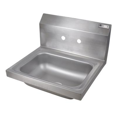 John Boos PBHS-W-1410 Wall Mount Commercial Hand Sink w/ 14L x 10W x 5D Bowl on Sale