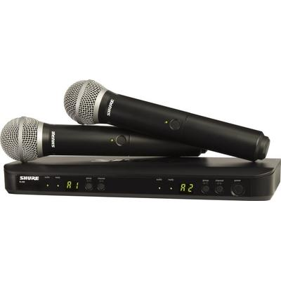 Shure BLX Wireless System H10 Dual HH System BLX2/PG58 BLX88