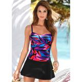 Swim Dress One-Piece Swimsuits & Monokinis - Black/pink/blue/purple